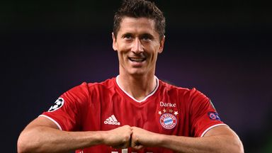Flick: Lewandowski the world's best striker