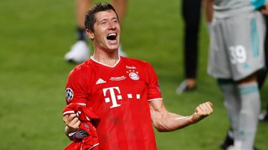 'Lewandowski one of the world's best'