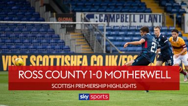 Ross County 1-0 Motherwell