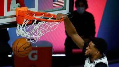 Rudy Gay takes flight for monster dunk!