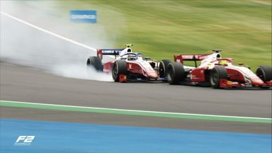 Schumacher clashes with teammate in F2!