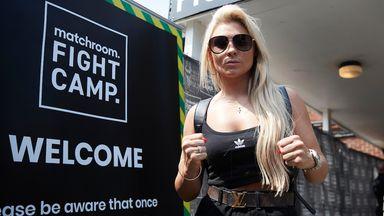 Courtenay reveals NHS boxing shorts