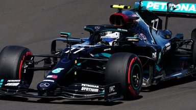 Bottas beats Hamilton to pole