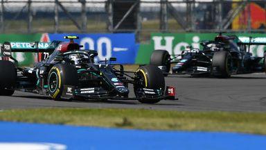 Bottas holds off Hamilton
