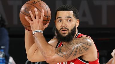 VanVleet red-hot from downtown against Heat