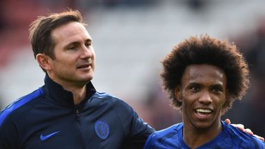 Lampard: No hard feelings if Willian leaves