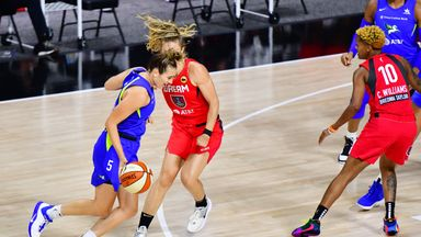 WNBA: Dream 75-85 Wings
