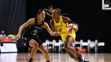 WNBA: Fever 86-79 Liberty