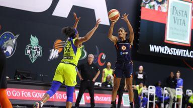 WNBA: Wings 66-70 Sun