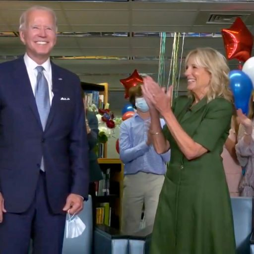 Joe Biden formally nominated as the Democratic challenger to Trump