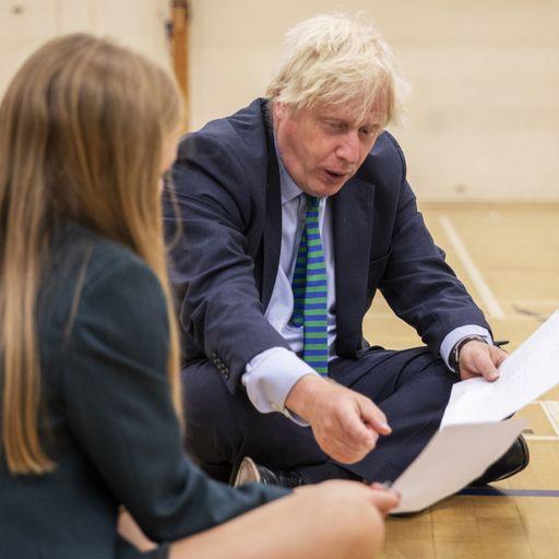 Johnson blames 'mutant algorithm' for A-level results fiasco