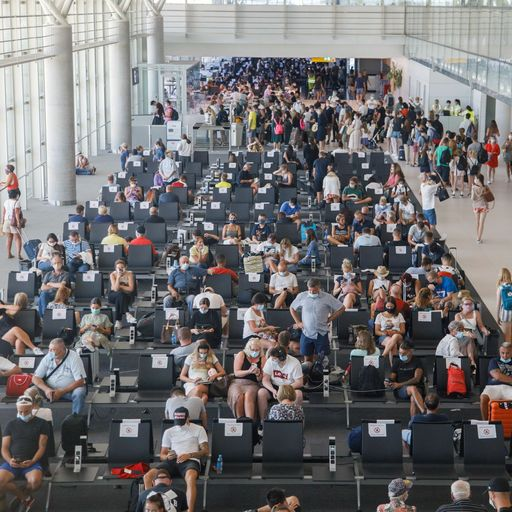 Britons scramble to get home - as transport secretary rules out regional quarantines