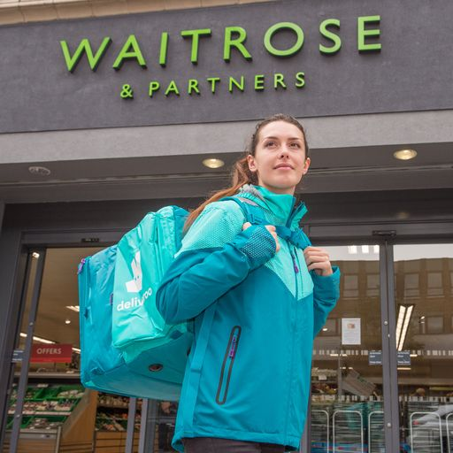 Coronavirus: Waitrose to trial groceries on Deliveroo as pandemic accelerates changes to retail