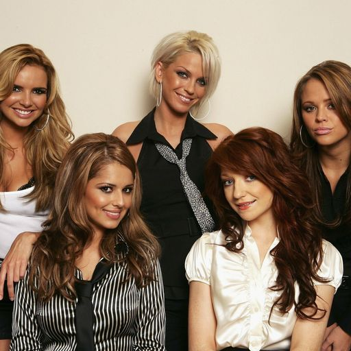Girls Aloud stars' messages of support for Harding