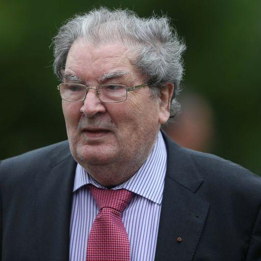 John Hume: Former SDLP leader and Nobel Peace Prize winner dies