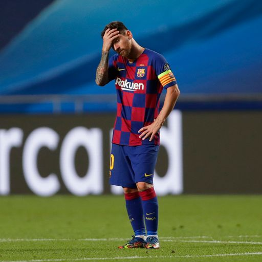 Footballer reluctantly stays at Barca but says club president 'did not keep his word'