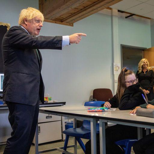Boris Johnson blames 'mutant algorithm' for A-level results fiasco, then sacks education chief