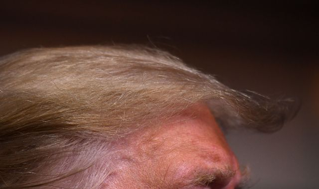Trump wants to change government rules so his hair can stay 'perfect'