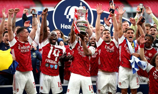 Coronavirus: Arsenal blame pandemic revenue hit as FA Cup winners announce plans to make 55 staff redundant