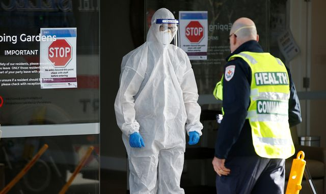 Coronavirus: Melbourne brings in tighter restrictions as state of disaster is declared