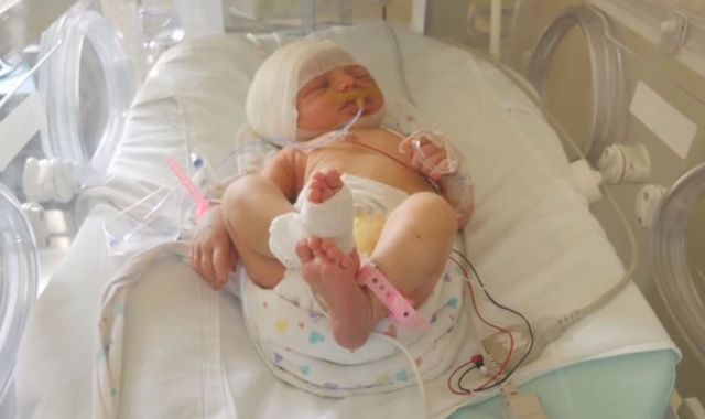 Beirut explosion: Parents' anguish as newborn daughter injured in Beirut blasts