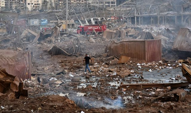 Beirut explosion: International search teams sent to help find the dozens still missing
