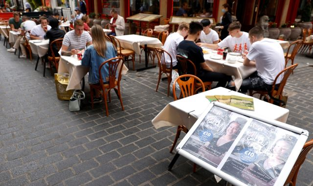 Coronavirus: Restaurants enjoy surge in sales as diners take advantage of Eat Out to Help Out scheme