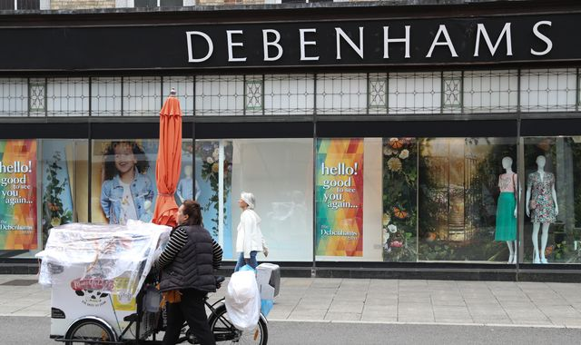 Debenhams to cut 2,500 more jobs over COVID-19 hit