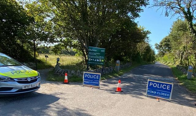 Man and woman found dead inside car at country park in Dorset