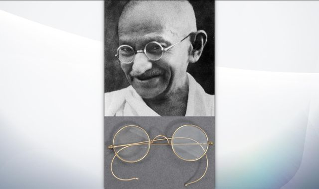 Gandhi's glasses found in auctioneer's letterbox after two days