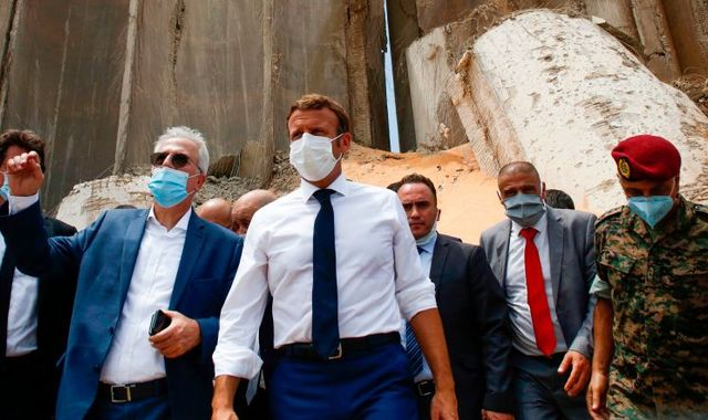 Beirut explosion: Emmanuel Macron says Lebanon needs new 'political initiative' because of corruption