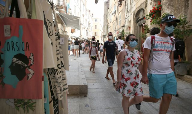 Coronavirus: Britons travelling to France warned to 'keep an eye' on quarantine rules