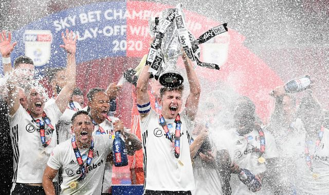 Fulham back in the Premier League after victory in football's richest game