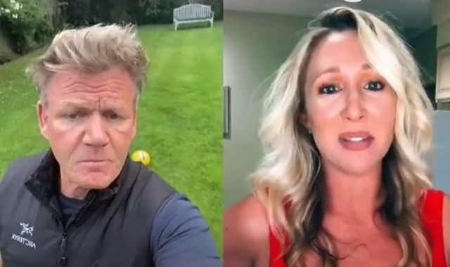 'You've lost the plot': Gordon Ramsay takes aim at US TikTok mum's 'microwaved British fish and chips'