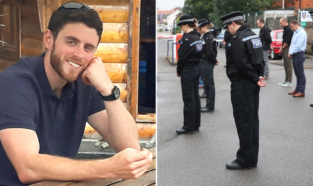 PC Andrew Harper: Widow writes heartfelt poem to killed officer as anniversary services held