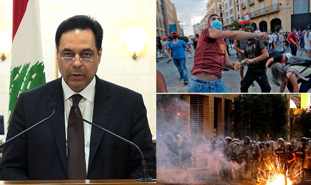 Beirut explosion: Lebanon PM and entire government resigns after deadly blast