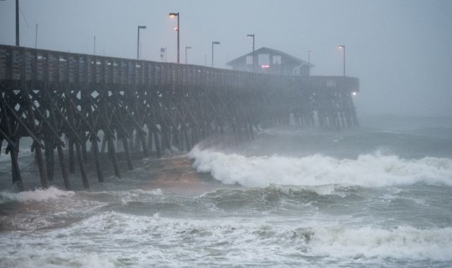 Hundreds of thousands without power as Hurricane Isaias hits US east coast