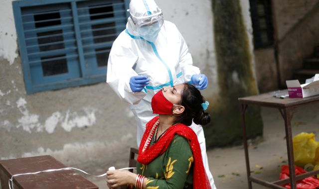 Coronavirus: Record daily jump in infections takes India's COVID-19 cases above 2m