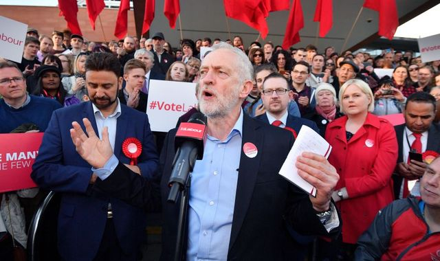 Labour accused of trying to 'destroy' its left-wing elements by Corbyn-backing Momentum