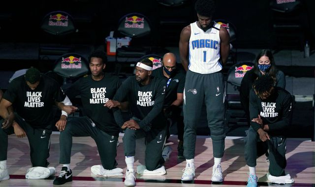 Jonathan Isaac: Orlando Magic star explains why he didn't kneel in honour of Black Lives Matter