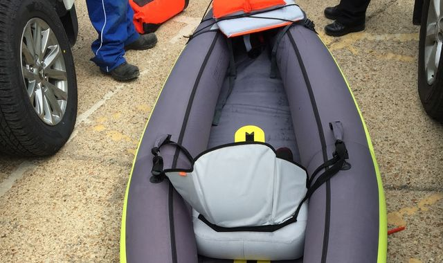 Search suspended for kayaker missing near Brighton