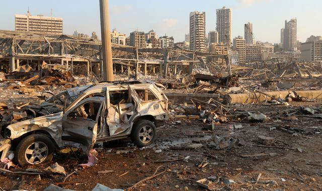 Beirut explosion: Experts can spot tell-tale signs of the causes of a blast - here's what this one tells us