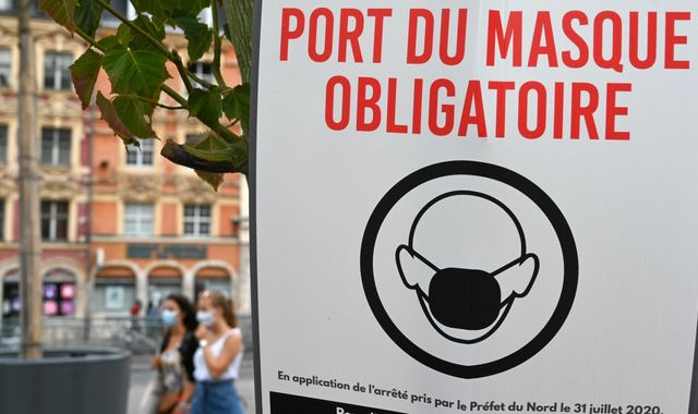 Coronavirus: French cities make face masks compulsory in busy outdoor areas as cases climb again
