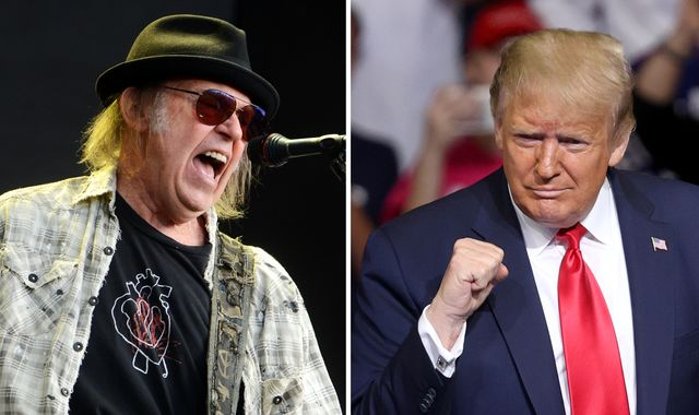 Neil Young sues Donald Trump's re-election campaign for using his music