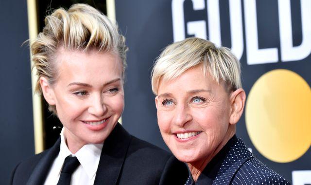 Ellen DeGeneres: Wife Portia de Rossi supports star following toxic workplace reports