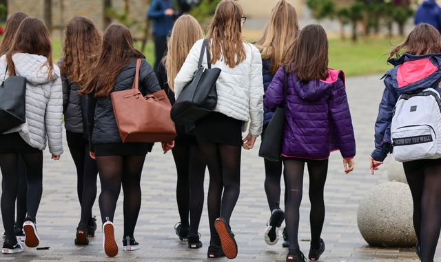 Coronavirus: Scottish schools start re-opening - but the classroom will look different