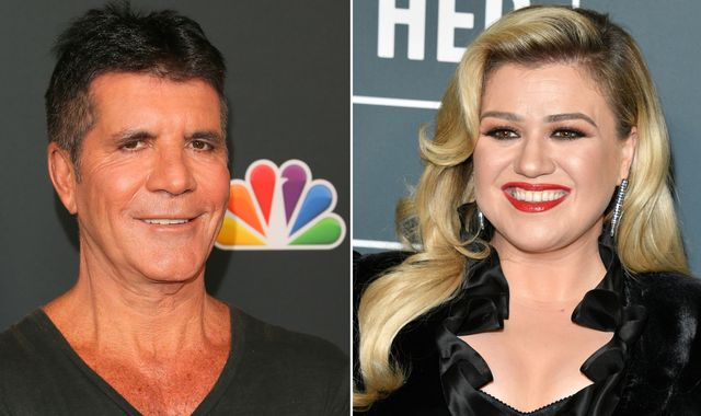 Simon Cowell replaced by Kelly Clarkson on America's Got Talent after breaking his back