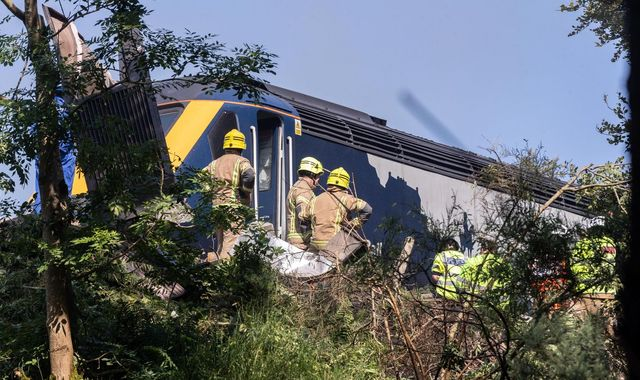 Stonehaven crash: Network Rail was warned about potential problems across UK four weeks before train derailment