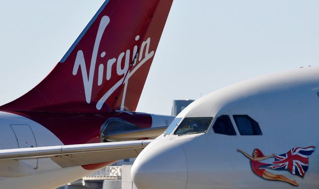 Coronavirus: Virgin Atlantic files for US bankruptcy in fight for survival