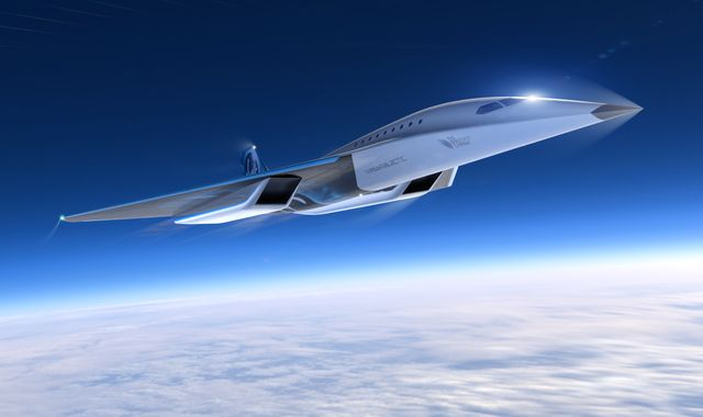 New York in two hours and Sydney in five - Virgin gives first look at supersonic jet project